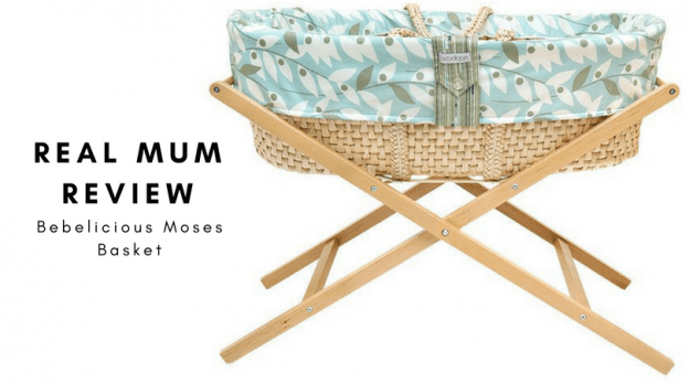 review bebelicious moses basket