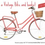 Vintage Bicycle- WIN one for Mother's Day!