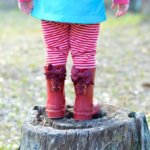 Winter Fun with Timber & Tamber Rain Boots