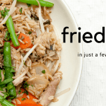 Fried rice recipe- quick and easy