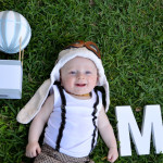 Mylo's Hot Air Balloon Themed Naming Day