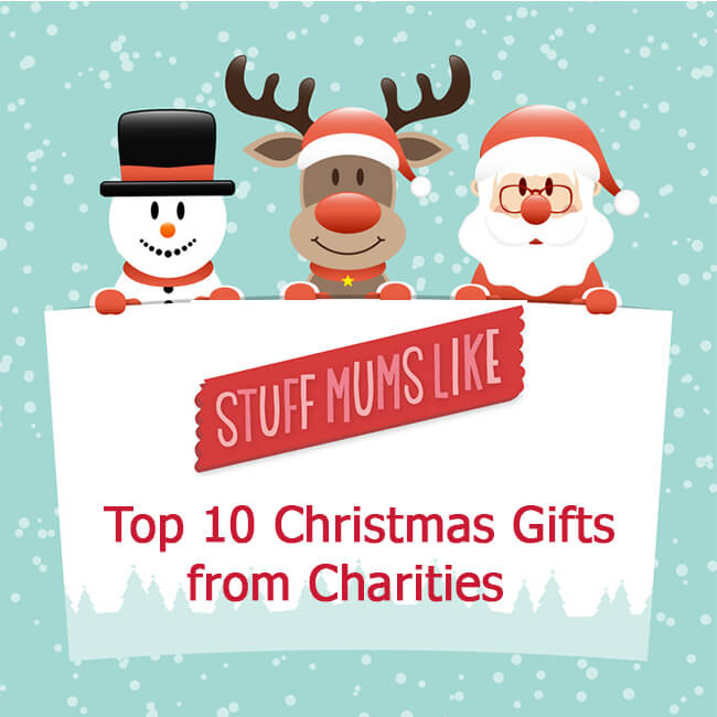 Our Top Ten Charity Christmas Gifts - Stuff Mums Like