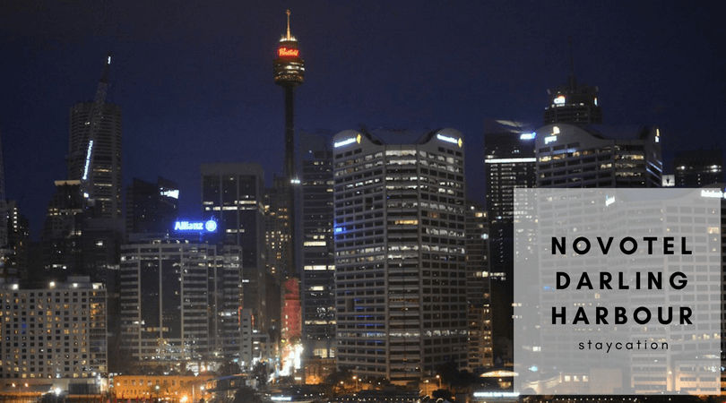 Novotel darling harbour staycation