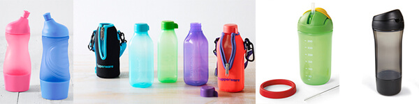 tupperware drink bottles