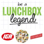 Become a Lunchbox Legend with IGA