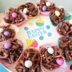 EASTER Pretzel Nests