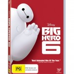 WIN- one of 5 Big Hero 6 DVDs