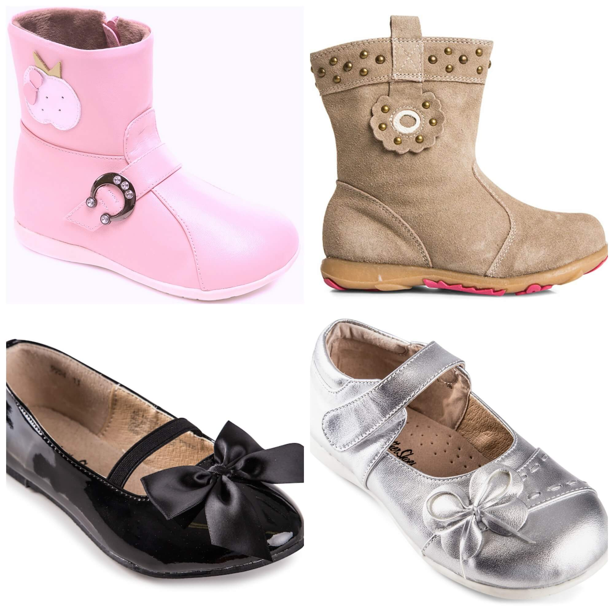 mixed girls shoes