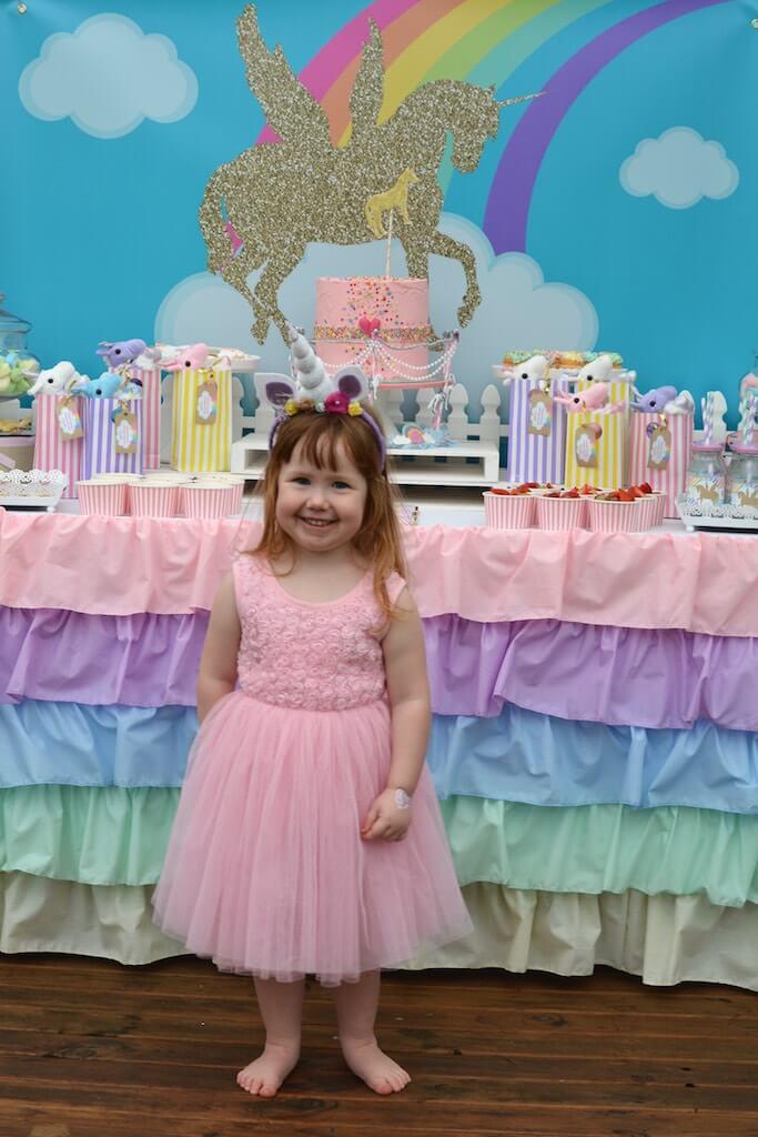Unicorn party ideas/ rainbow party ideas/ 3rd birthday party ideas/ girls birthday party ideas