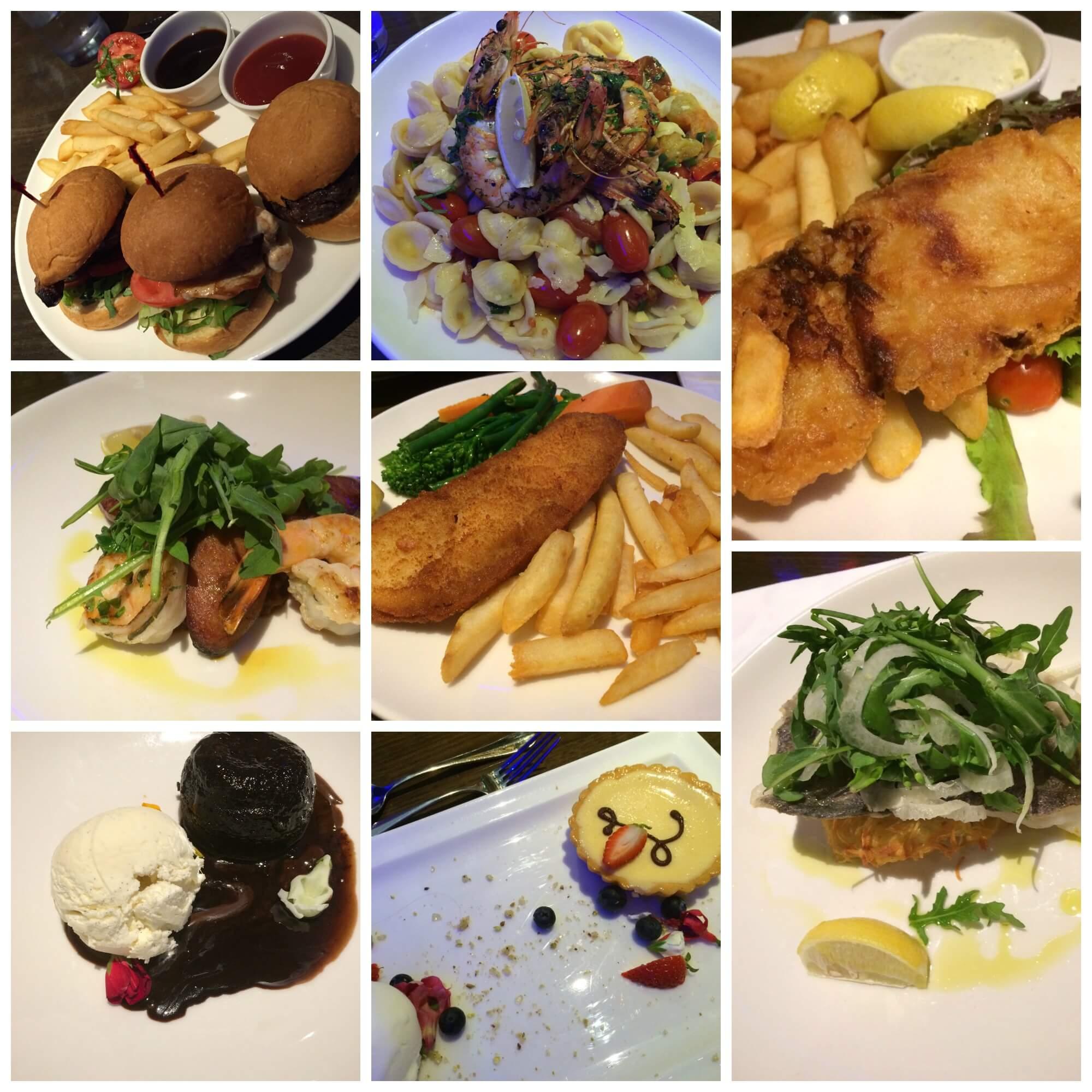 Novotel Canberra dinner