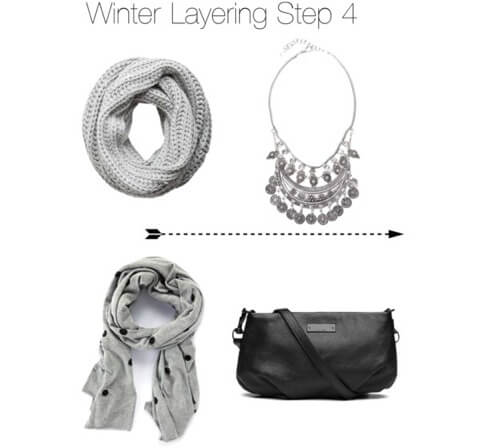 Winter layering step 4