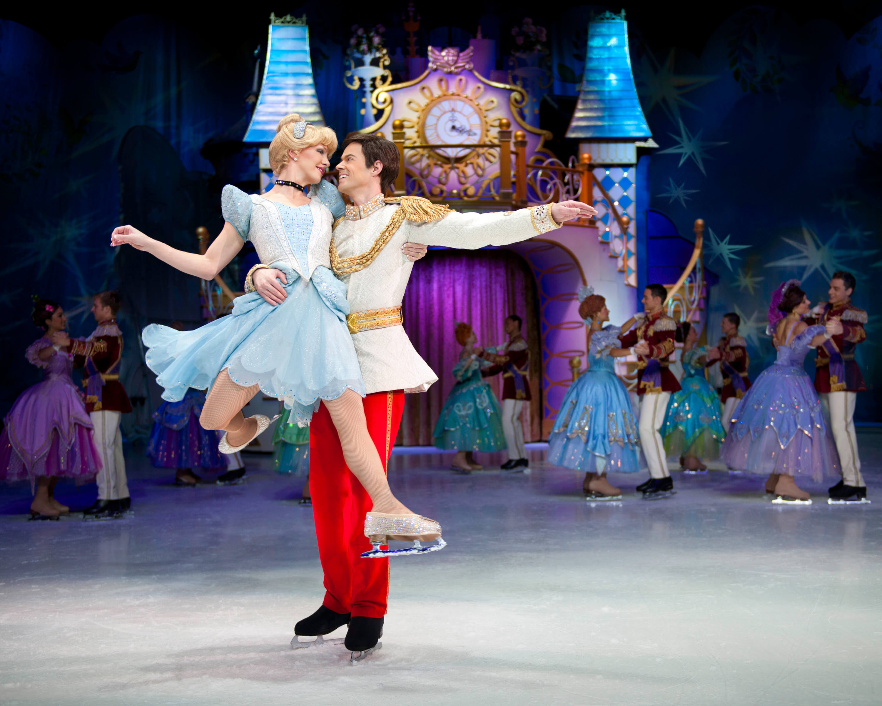 Cinderella-and-Prince-Charming-dance-at-the-ball
