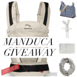 WIN one of two manduca day out with baby prize packs- valued at $525
