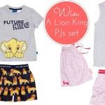 WIN- a set of Peter Alexander's Lion King Pyjama sets