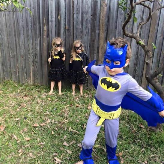Currency in the form of Batman/Batgirl outfits...