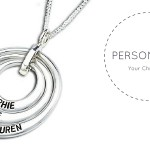 Personalised jewellery for Christmas