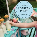Styling a Garden Party with Sipahh