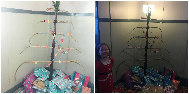 DIY Christmas tree 1