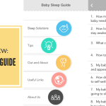 Review: Baby Sleep Guide App