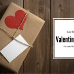 5 Last Minute Valentines Gifts (in case he forgot!)