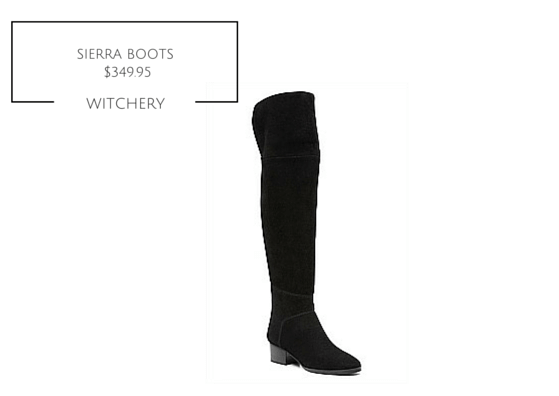 SIERRA BOOT WITCHERY