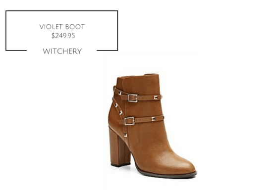 VIOLET BOOTS WITCHERY