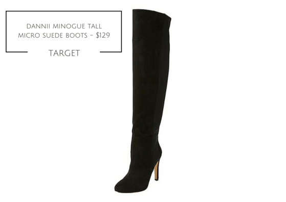 DANNII TALL MICRO SUEDE BOOT