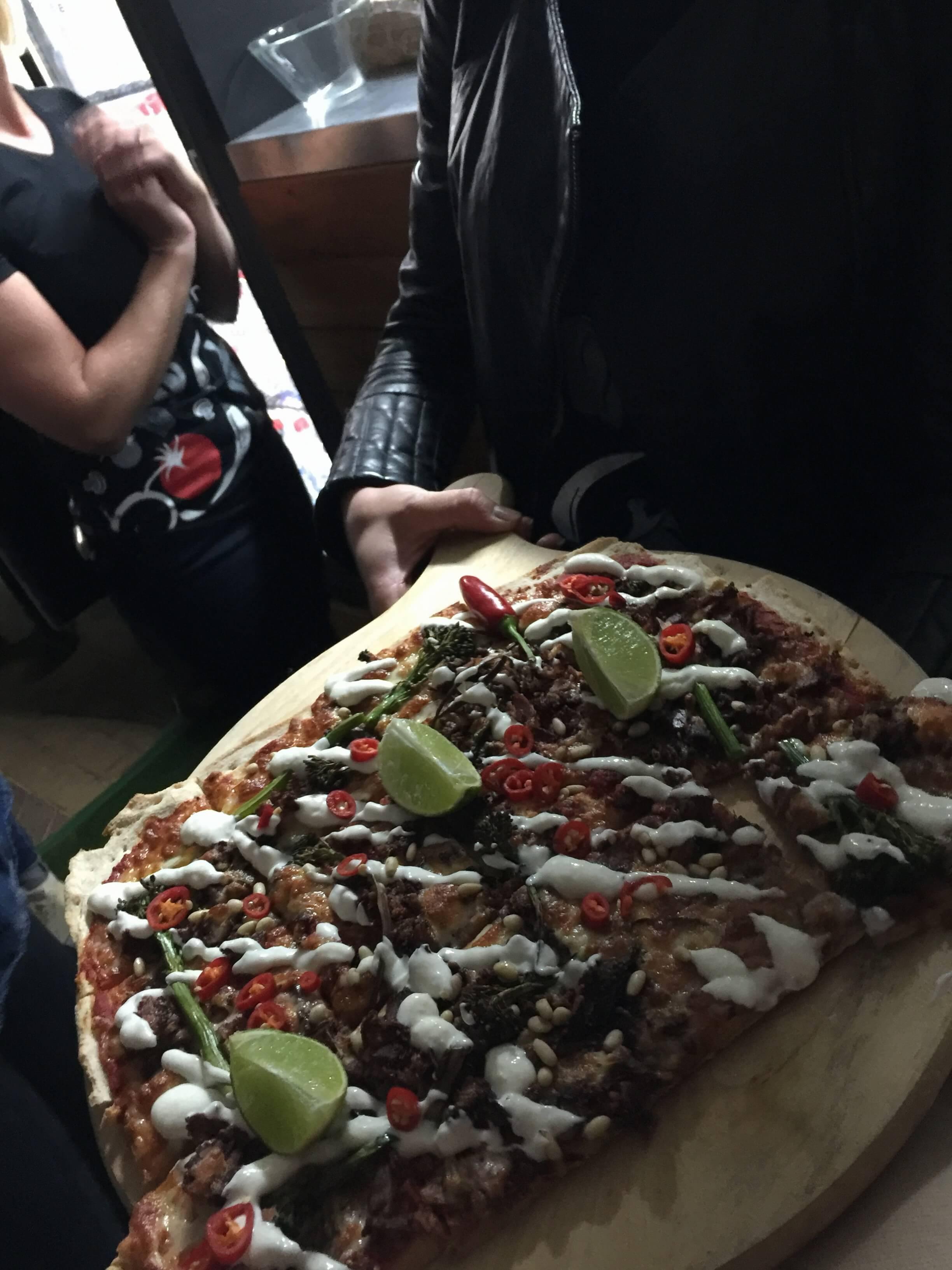 Crust Pizza Biltong Spiced Lamb