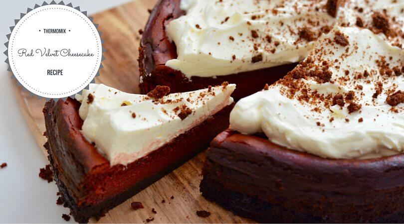 Thermomix Red Velvet Cheesecake Recipe/ Stuff Mums Like