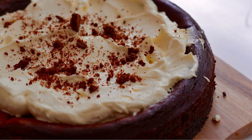 Thermomix Red Velvet Cheesecake Recipe/ Stuff Mums Like