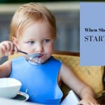 When should a baby start solids?