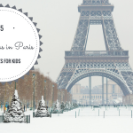 Christmas in Paris- 5 Fun Activities for kids