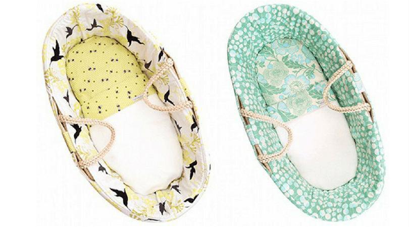 Newborn essentials moses basket