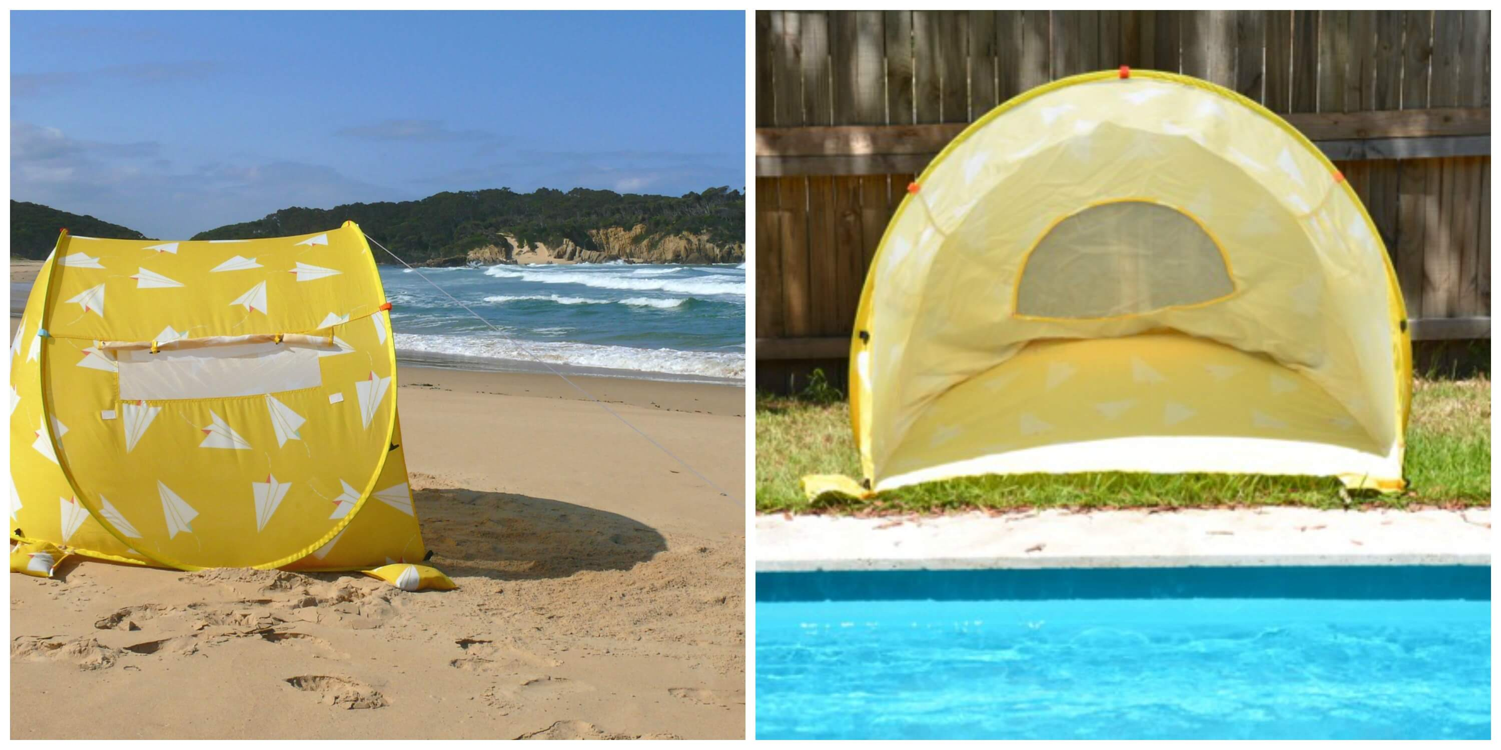 Beach shelter Summer essentials
