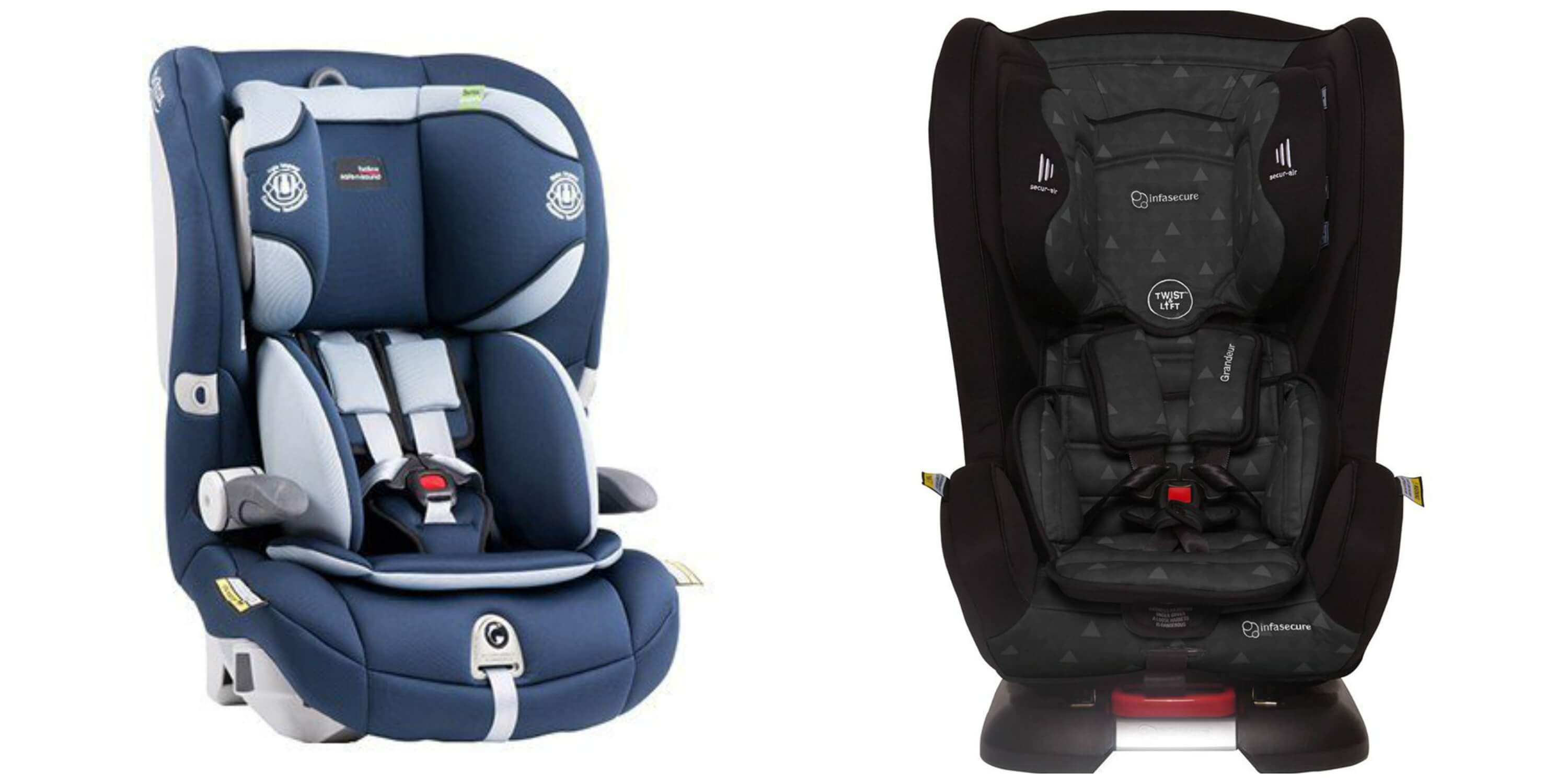 Type G car seats