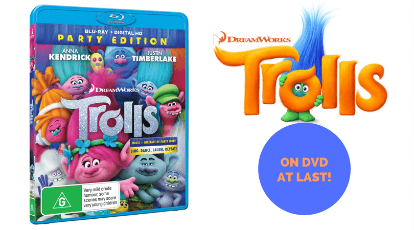 Trolls ON DVD AT LAST!