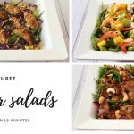 Three quick and easy summer salad recipes