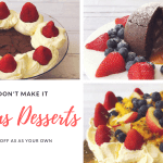 Fake it, don't make it- Three pre-made Christmas desserts you can hack