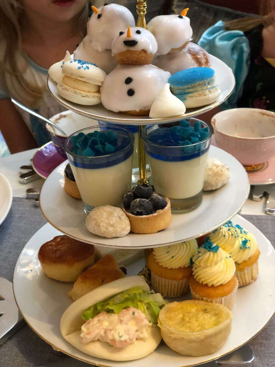 Frozen high tea