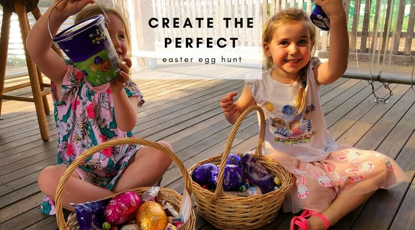 create the perfect easter egg hunt