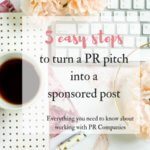 5 easy steps to turn a PR pitch into a sponsored blog post