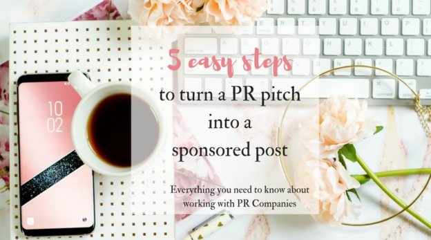 5 easy steps to turn a PR pitch into a sponsored post