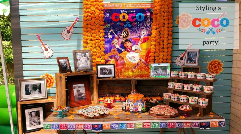 Styling A Disney Pixar Coco Party