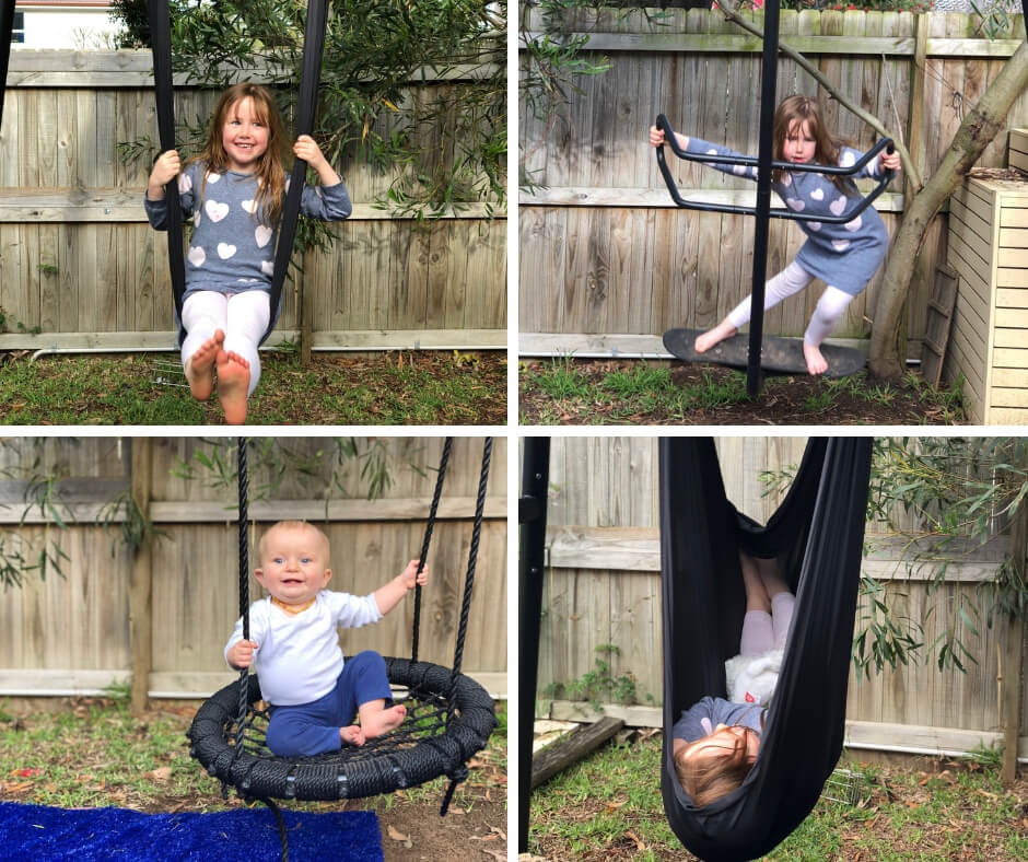 vuly play swing set