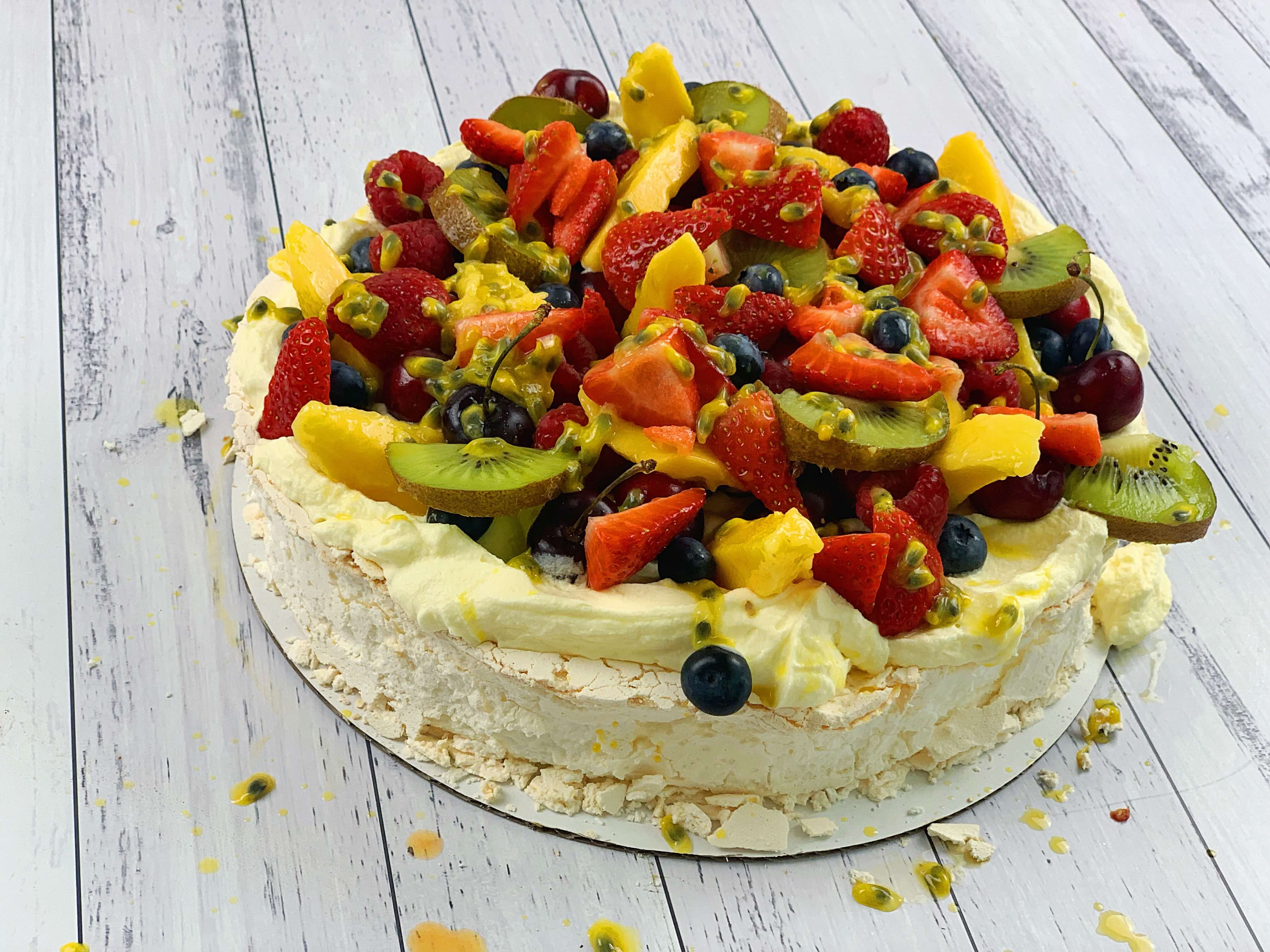 Christmas Pavlova - three ways