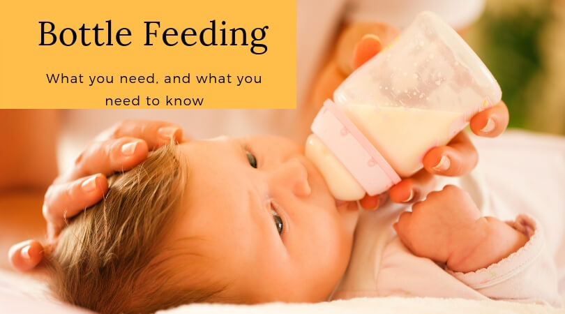 Bottle feeding – what you need, and what you need to know