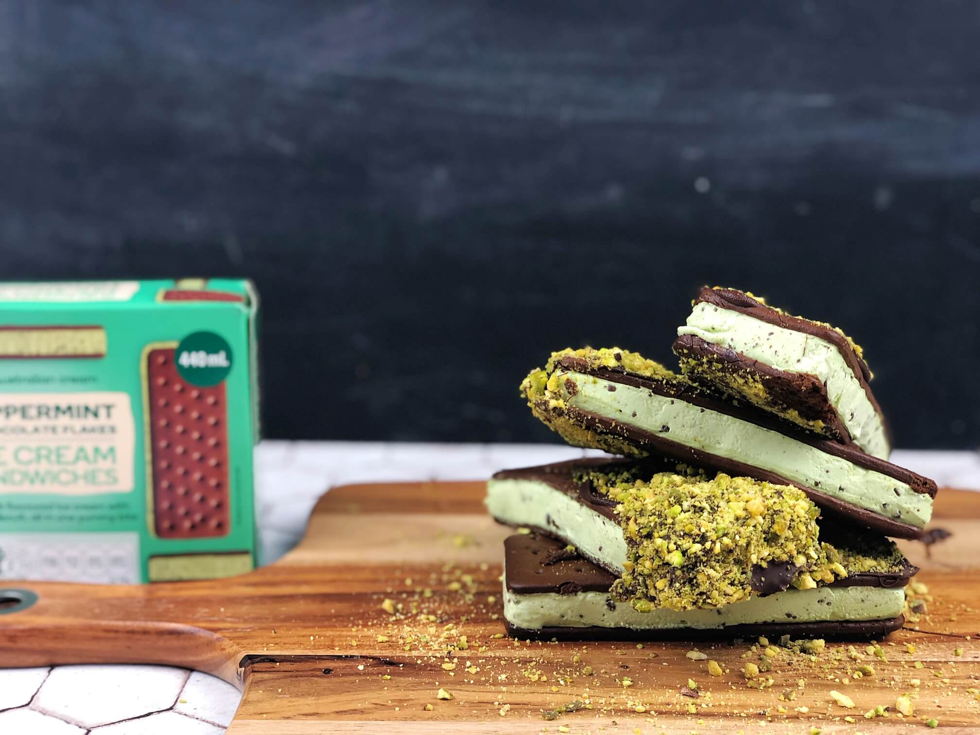 5 ways to serve your Ice cream sandwiches
