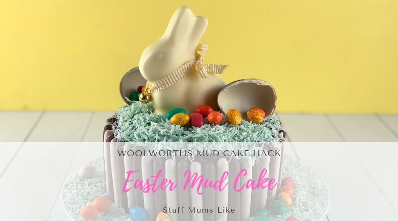 Easter mud cake hack