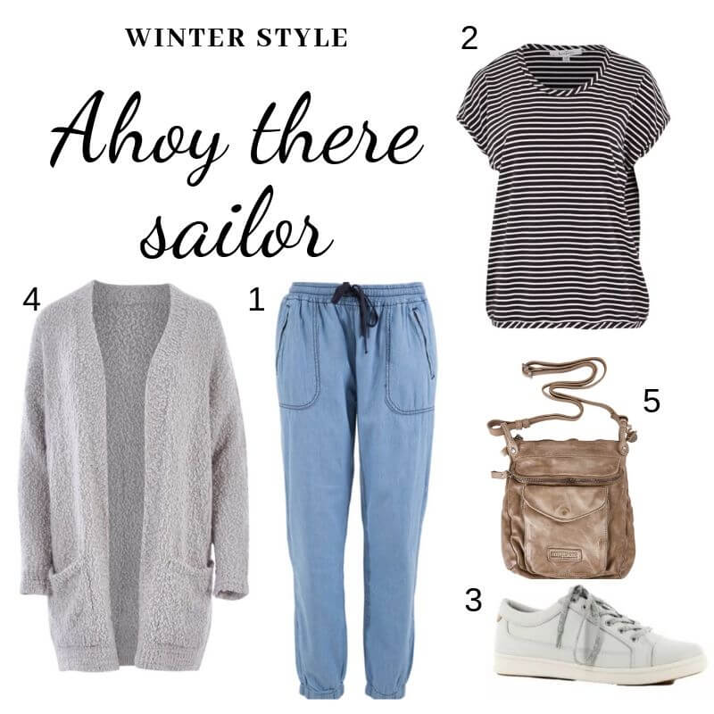 Ahoy there sailor - winter style