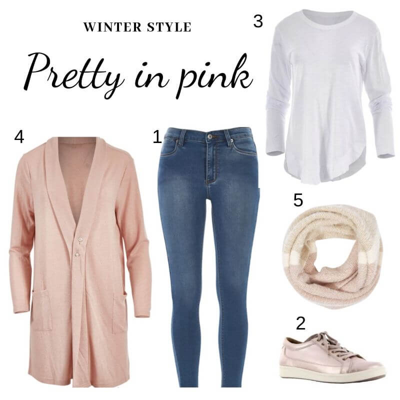Pretty in pink - winter style